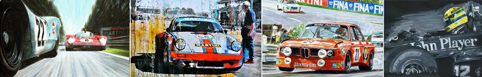 Motorsport Racing Kunst kaufen