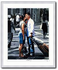 Stillstand von Rainer Augur als Kunstdruck