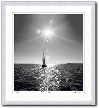 Maritime Kunst Der Sonne entgegen von Klaus Ender