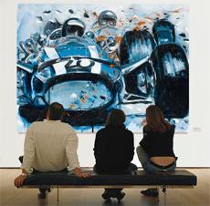 Motorsport Nicolas Cancelier le mans-moderne kunst online
