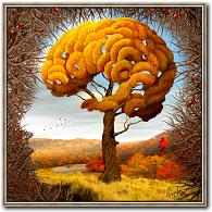 Natur kunst Vier Jahreszeiten Der Herbst von Igor Morski