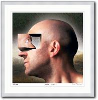 Look Inside von Igor Morski Portrait Kunst
