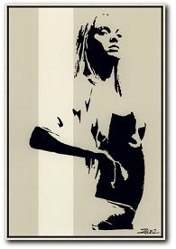 Wait Kunstwerk street-art von Zalez