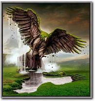 Earth Rising Eagle Igor Morski kunst kaufen sureale Kunstdruck