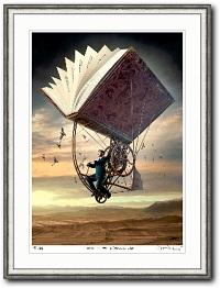 Fly_with_literature_igor_Morski_surreale_moderne_Kunst