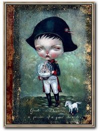 Napoleon_bear_dilka_surreale_Kunst_online_kaufen.