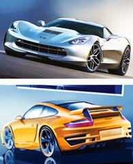 Vita Rolf Schepp - futuristische Autos