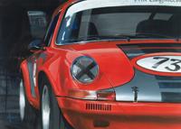 automobile kunst porsche 911RSR