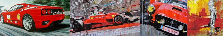 Ferrari Bilder Kunst Online Kaufen