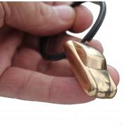 356 Porsche Coupe in Bronze - Schlüsselanhänger