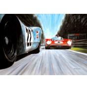Le Mans 24h 1970 - Porsche 917 vs. Ferrari 512