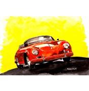 Red 356 Speedster