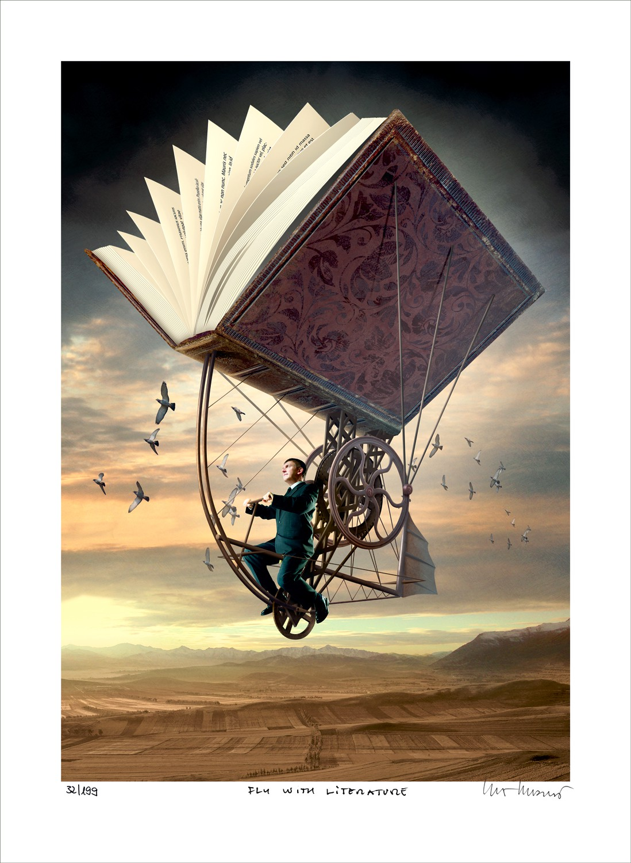 "Igor Morski: ""Fly with Literature"","