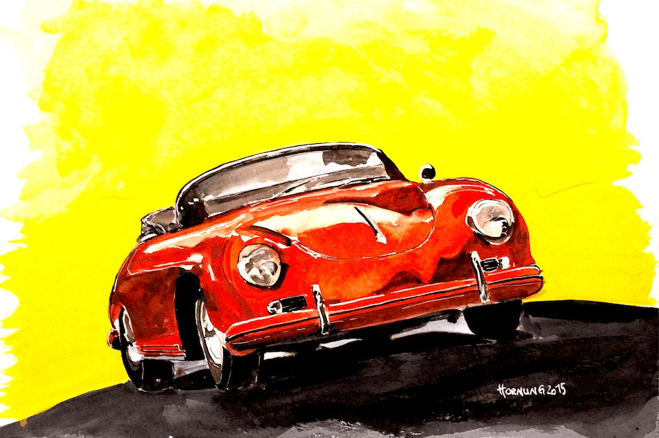 Red 356 Speedster