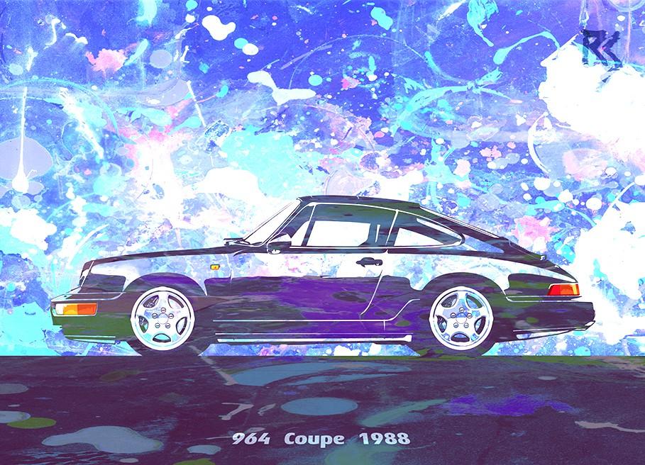 Pop Porsche 964 Coupe 1988