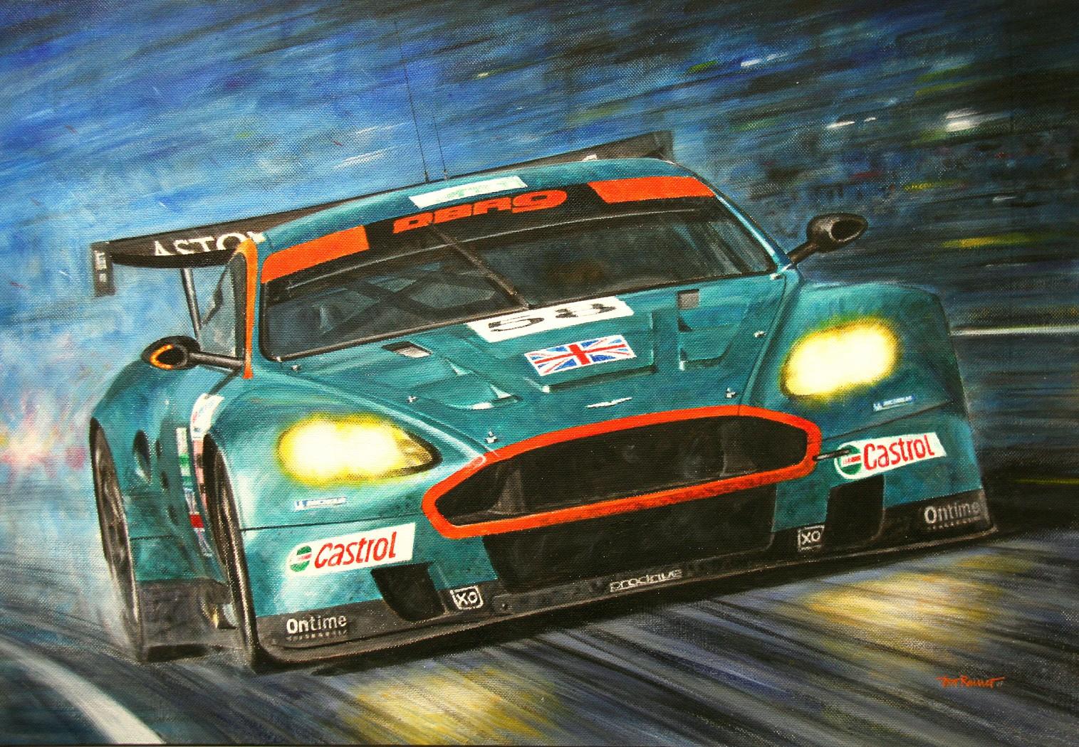 Aston Martin DBR9 - 24h Le Mans 2005