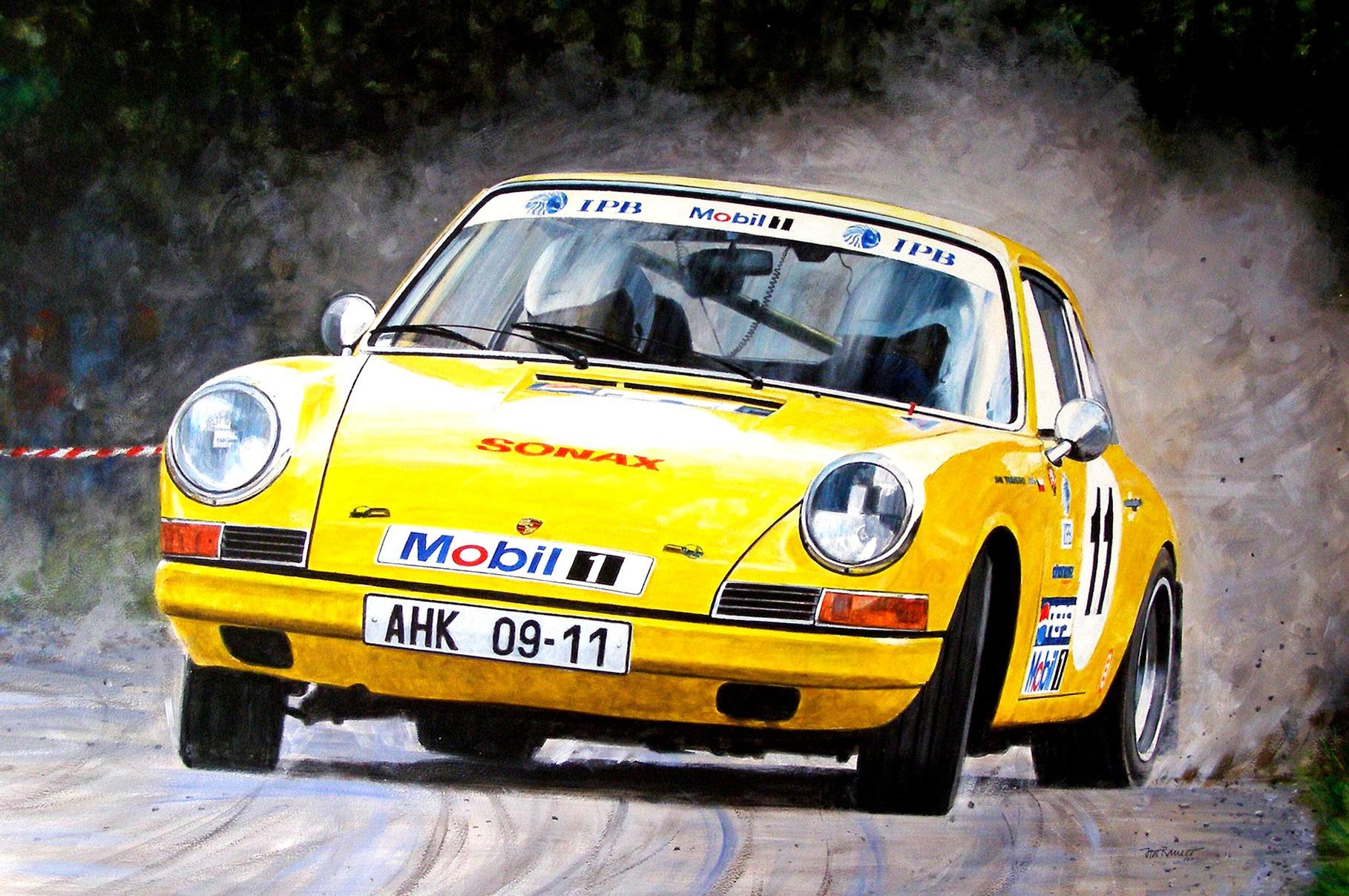 Porsche 911-1965 - European Historic Rally