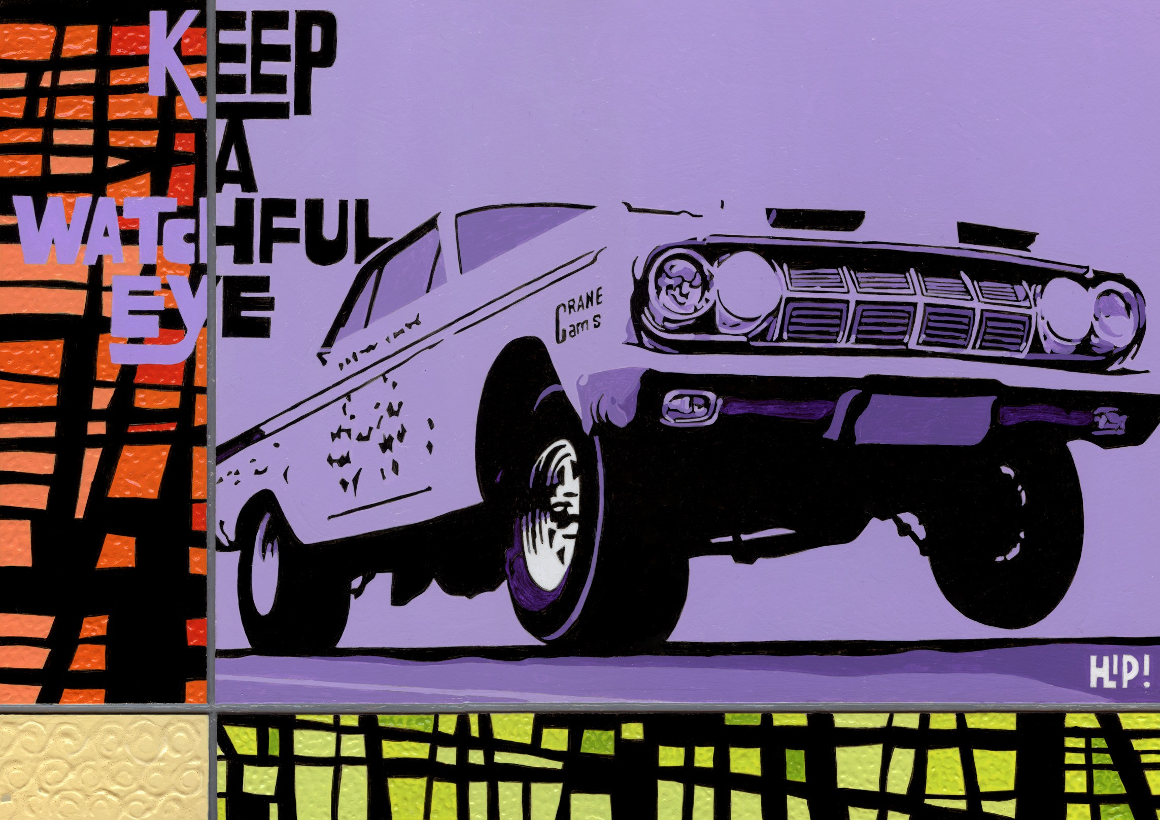 KEEP A WATCHFUL EYE -'64 Plymouth Sport Fury