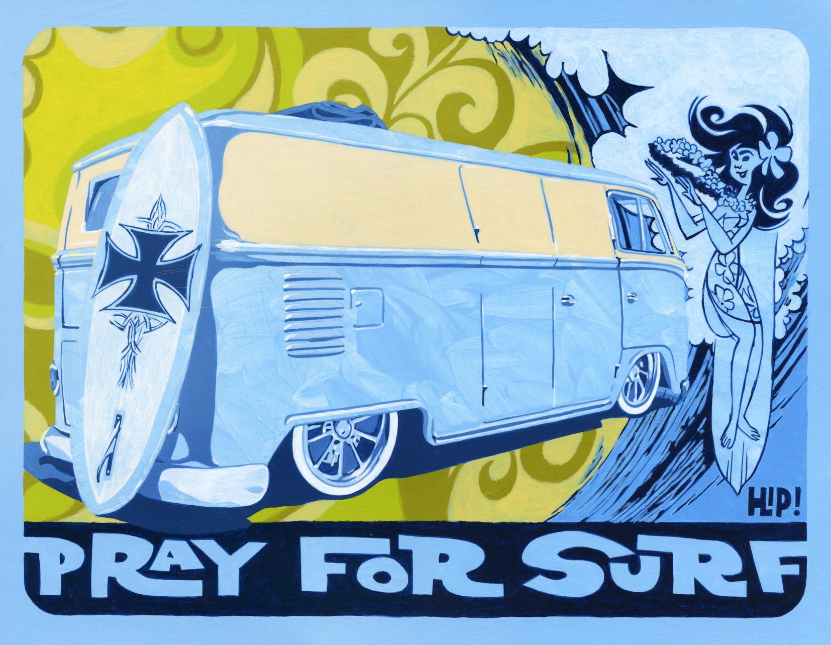 Pray For Surf - Custom VW Bus Bulli T1