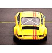 Yellow Porsche 911