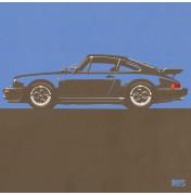 Porsche 911 Grey Blue 1974 Turbo - C03 3/25