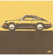 Porsche 911 Light Orange 1963 - Typ 901 C06 6/25