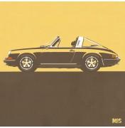 Porsche 911 Light Orange 1967 - Targa 1967 C06 6/25