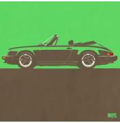 Porsche 911 Green 1983 - SC Cabrio 1983 C10 10/25