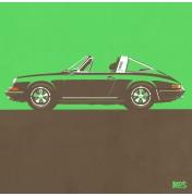 Porsche 911 Green 1967 - Targa 1967 C10 10/25