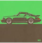 Porsche 911 Green 1974 Turbo - C10 10/25