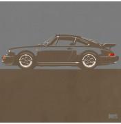 Porsche 911 Dark Grey 1974 Turbo - C13 13/25