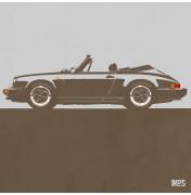 Porsche 911 Light Grey 1983 - SC Cabrio 1983 C21 21/25