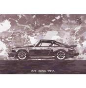 Dark Star Porsche 911 Turbo 1977