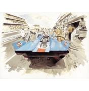 Gulf Porsche 917 K – Die Le-Mans-Legende 1971 I.