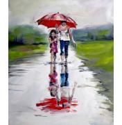 """Irene Mischak: """"Im Regen"""", komplettes Motiv"""