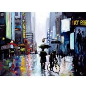"Irene Mischak: ""Nachts in New York"", komplettes Motiv"