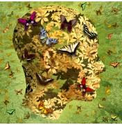 "Igor Morski: ""Butterflies"", komplettes Motiv mit Signatur rechts unten"