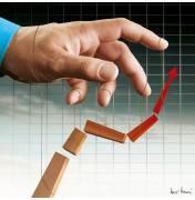 "Igor Morski: ""Stock Market Manipulation"", komplettes Motiv mit Signatur rechts unten"