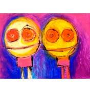 Paul Megens: The Two of Us. Komplettes Motiv.