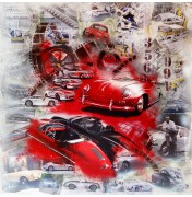 In Red Porsche 356 (1948) verso Porsche 991 (2011)
