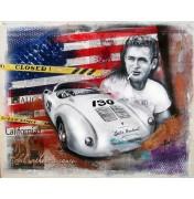 """James Dean Porsche """"Little Bastard"""" - 550 Spyder"""