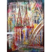 Der Kölner Dom - Collage