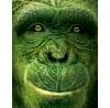 """Igor Morski: """"Rain Forest 1: Schimpanse"""", Detail"""