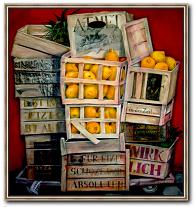 Stillleben Bild von Beate Koslowski mit Namen Markttag